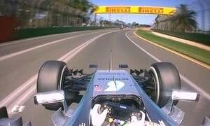 Mercedes lideram treino do GP da Austrália