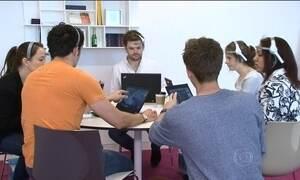 Equipamento mede a atenção de funcionários durante o trabalho