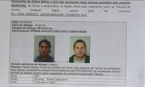 Gravações mostram negociações para fraudar licitação no Paraná