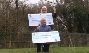 Casal ganha um milhão de libras em loteria pela segunda vez em dois anos