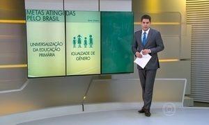 Brasil atinge duas das seis metas para educação, segundo a Unesco
