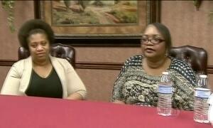 Americana encontra a mãe que nunca conheceu depois de 40 anos
