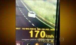 Aumenta o número de infrações no trânsito durante feriadão