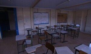 Fantástico vai à escola destruída por alunos e conversa com diretora