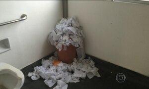 Estudantes denunciam ambiente insalubre da UERJ