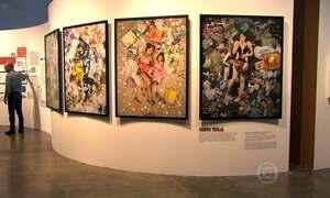 São Paulo sedia exposição que mistura arte com lixo e incentiva a reciclagem