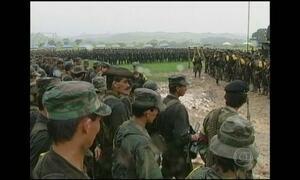 Governo colombiano volta a bombardear posições das Farc