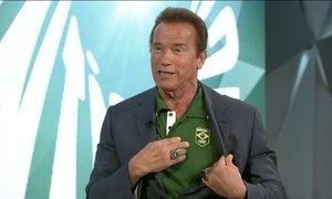Diziam que nunca poderia ser estrela de cinema, diz Schwarzenegger