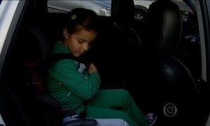 Transporte escolar terá que usar cadeirinha para crianças de até 7,5 anos