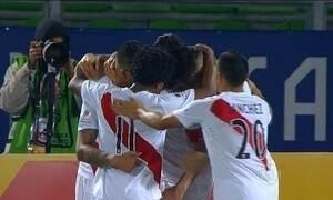 Peru vence a Venezuela pela Copa América