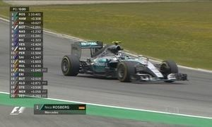 Nico Rosberg é o mais rápido no primeiro treino livre para o GP da Áustria