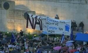 Plebiscito sobre plano de resgate de credores divide a Grécia