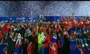 Chile é campeão da Copa América