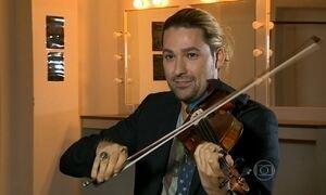 Violinista pop David Garrett está no Brasil para 5 shows
