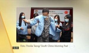 Chinês recebe novo fígado formado por partes de órgão de suas filhas