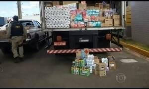 PRF faz operação contra transporte de cargas perigosas em Goiás