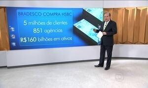Bradesco anuncia compra do HSBC