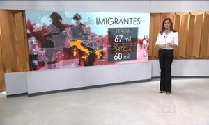 Crise de refugiados atinge proporções históricas