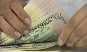 Preço do dólar fecha a R$ 3,45 e atinge o valor mais alto desde 2003