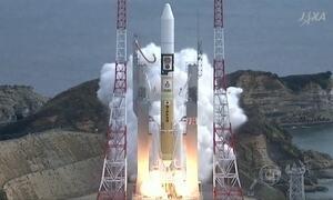 Foguete decola à estação espacial internacional com carga de whisky