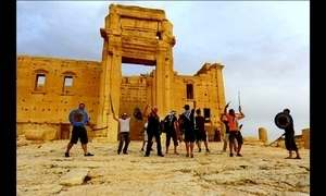 Estado Islâmico destrói parte de templo mais importante de Palmyra, na Síria