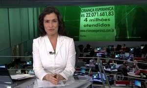 Campanha Criança Esperança arrecada mais de R$ 22 milhões