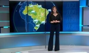 Grande parte do Brasil vai ter tempo firme na terça-feira (8)