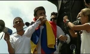 Condenado a quase 14 anos líder de oposição ao governo da Venezuela