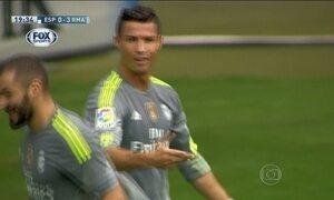 Cristiano Ronaldo tem atuação de gala no Campeonato Espanhol