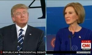 Debate na TV nos EUA tem a presença de candidatos pré-republicanos