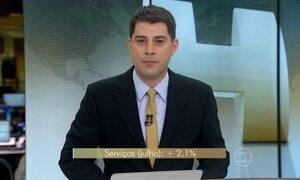 Pesquisa mostra o desempenho do setor de serviços no Brasil