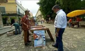 Cubanos reagem com admiração à visita do Papa Francisco