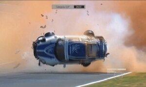 Pedro Piquet recebe alta após acidente impressionante