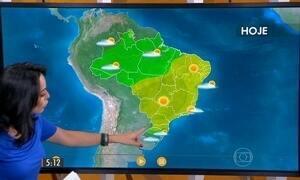 Confira como fica o tempo nesta terça-feira (22) em todo o Brasil