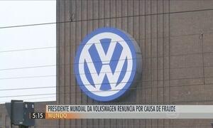 Presidente da Volkswagen renuncia depois de erro na emissão de poluentes