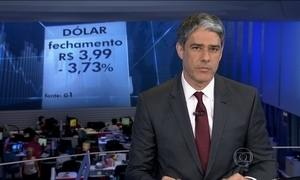 Brasil pode usar reservas para conter alta do dólar, diz presidente do BC