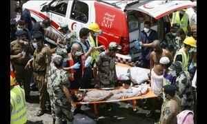 Tumulto mata mais de 700 pessoas em peregrinação para Meca