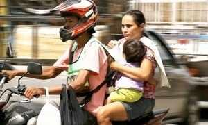 Mais de 400 crianças morreram em acidentes de moto nos últimos 7 anos