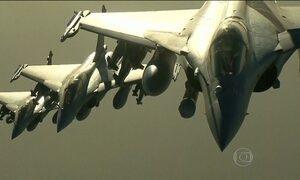 França realiza ataques contra posições do Estado Islâmico na Síria