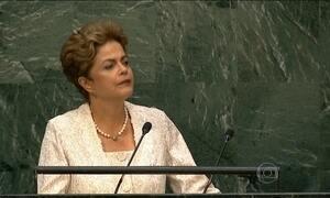 Em discurso na ONU, Dilma diz que o Brasil não tolera a corrupção