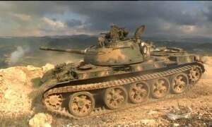 Tropas da Síria ampliam ofensiva para recapturar territórios