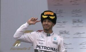 Lewis Hamilton vence na Rússia e vê o tricampeonato cada vez mais próximo