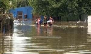 Mais de 20 mil pessoas são afetadas por enchentes no Rio Grande do Sul