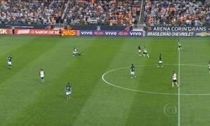 Corinthians vence Goiás e volta a abrir vantagem na liderança do Brasileirão