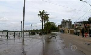 Nível do Rio Guaíba sobe e atinge recorde dos últimos 74 anos