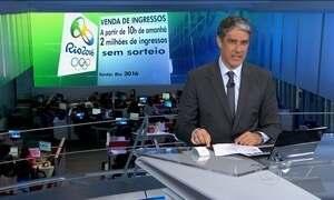 Saiba como comprar ingressos para os Jogos Olímpicos de 2016