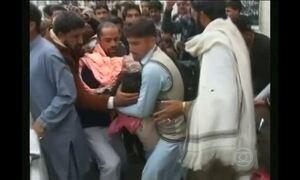 Terremoto atinge Afeganistão e Paquistão e causa 260 mortes