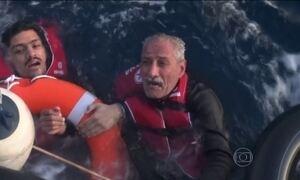 Grécia continua buscas por sobreviventes após naufrágio