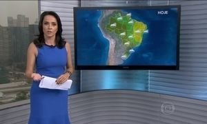 Previsão é chuva forte para o Sul do Brasil nesta quarta-feira (4)