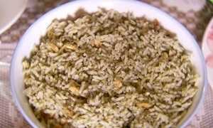 Aprenda a receita de pescada amarela e arroz de cuxá